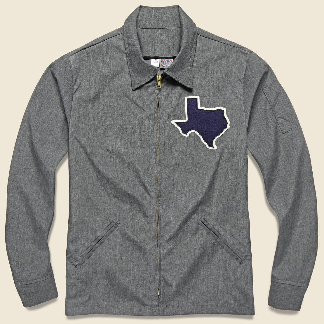 Ebbets Field Flannels Texas Forever Work Jacket - Grey