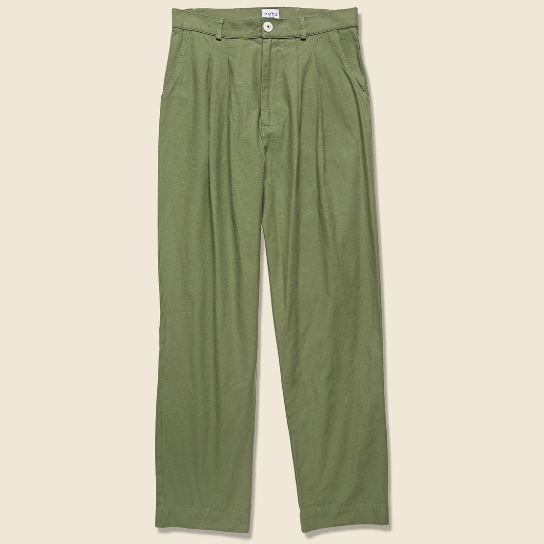 Esby Emma Trouser - Moss