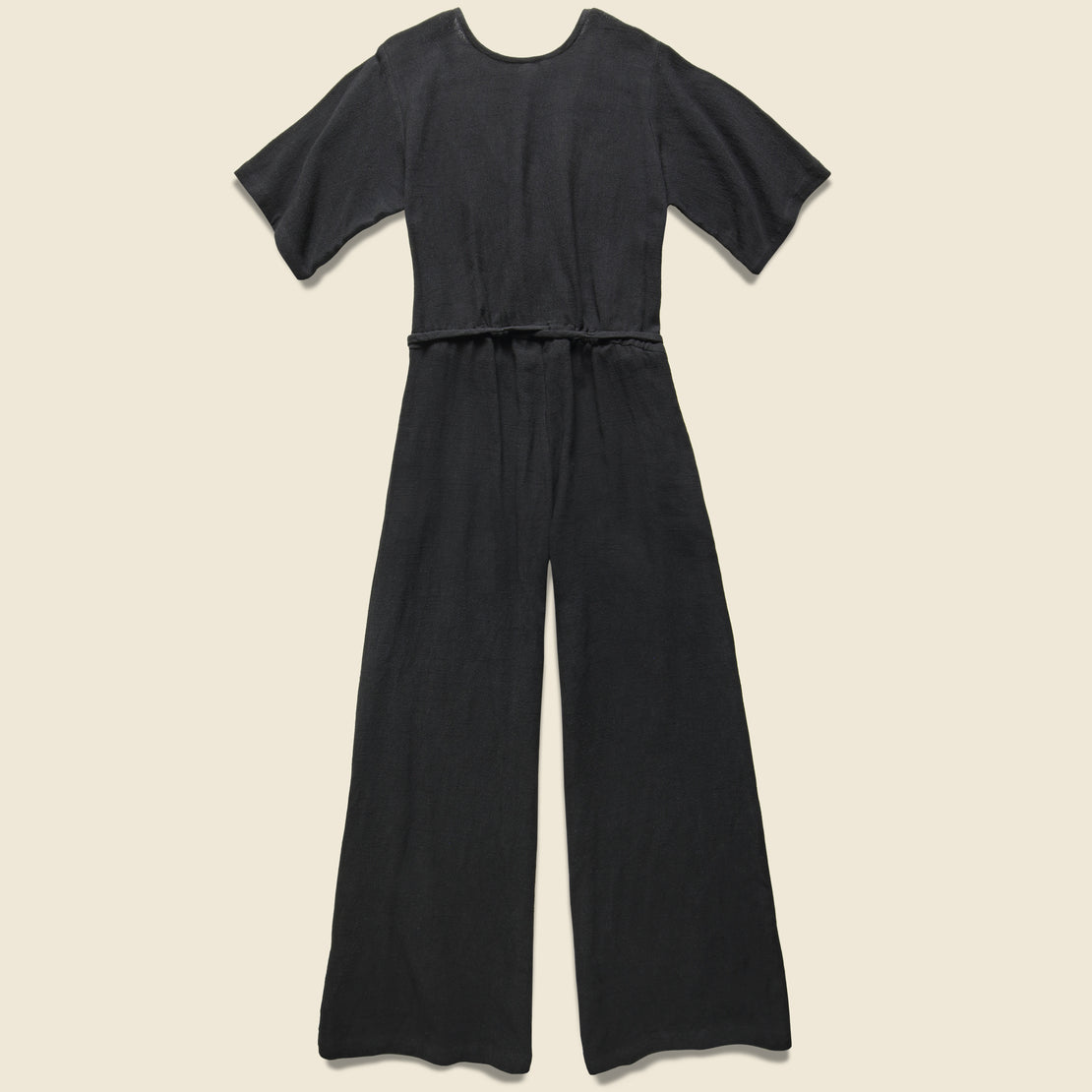 Duffy Wide Leg Jumper - Black