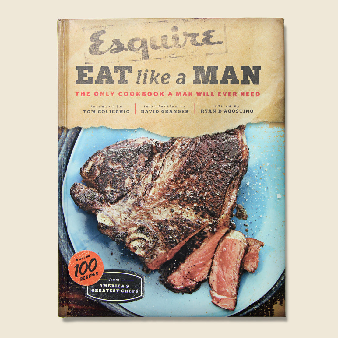 Bookstore Book - Eat Like A Man