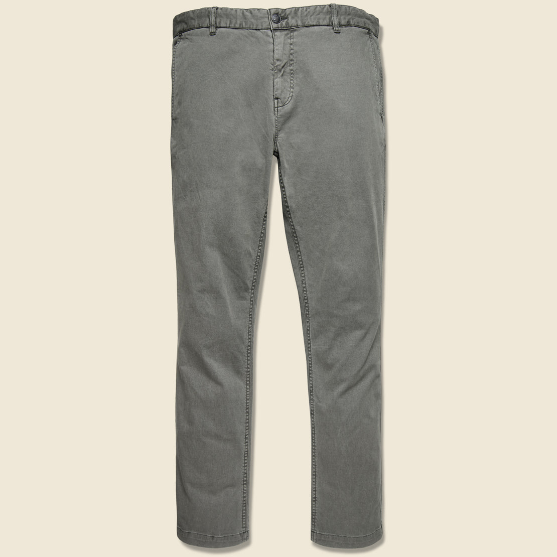 Faherty Stretch Canvas Trouser - Ash