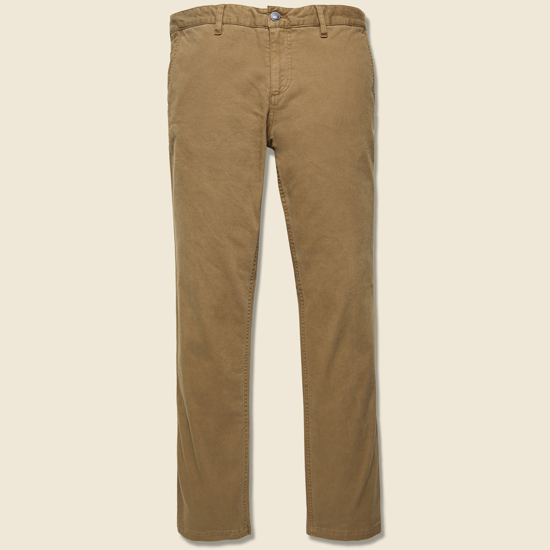 Faherty Comfort Canvas Trouser - Weir Brown