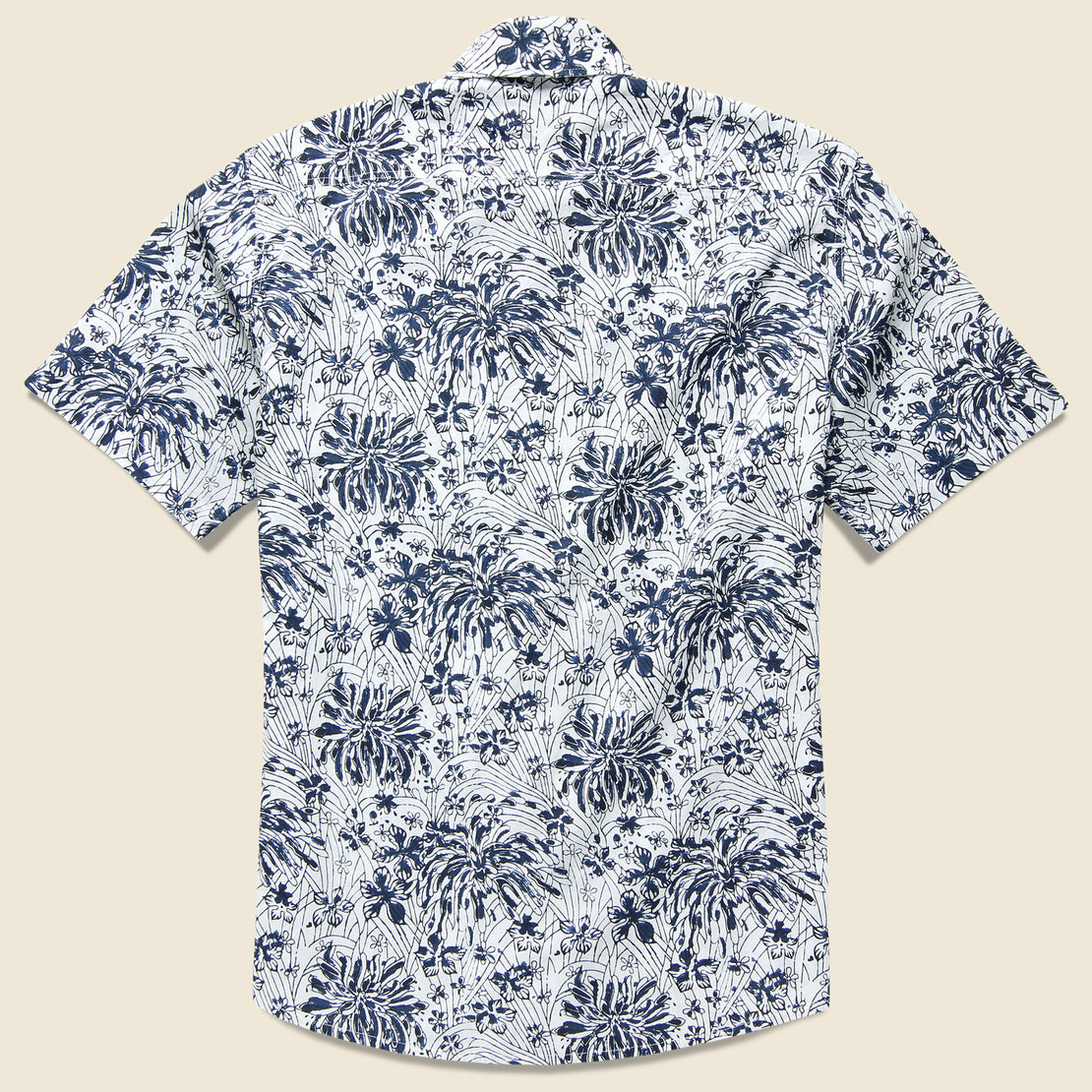 Poppy Coast Shirt - Navy/White