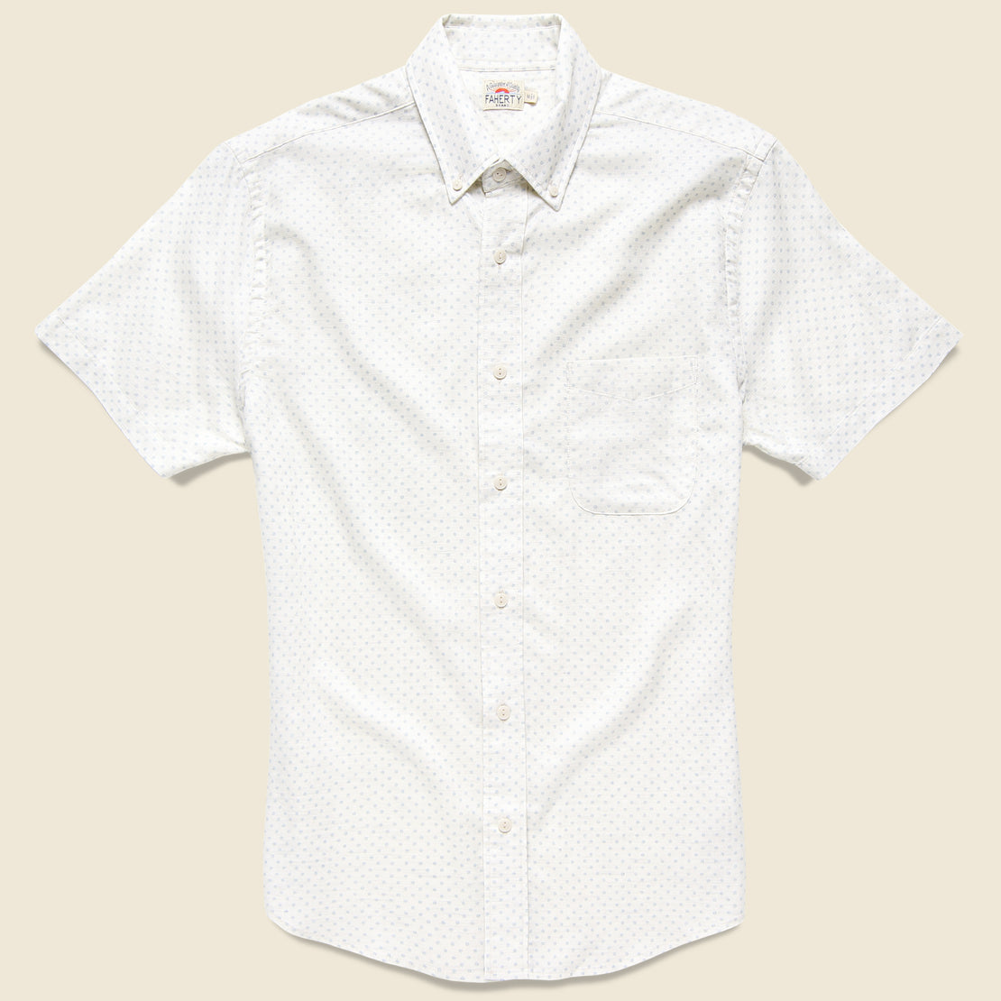 Faherty Pacific Shirt - Sunburst Print