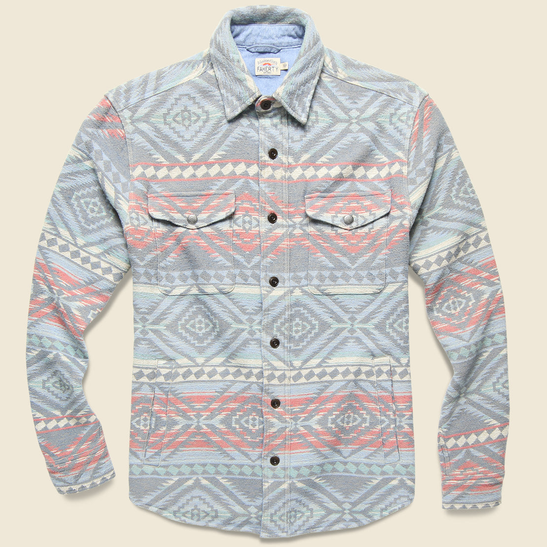 Faherty Durango CPO Workshirt - Aleutian Coast