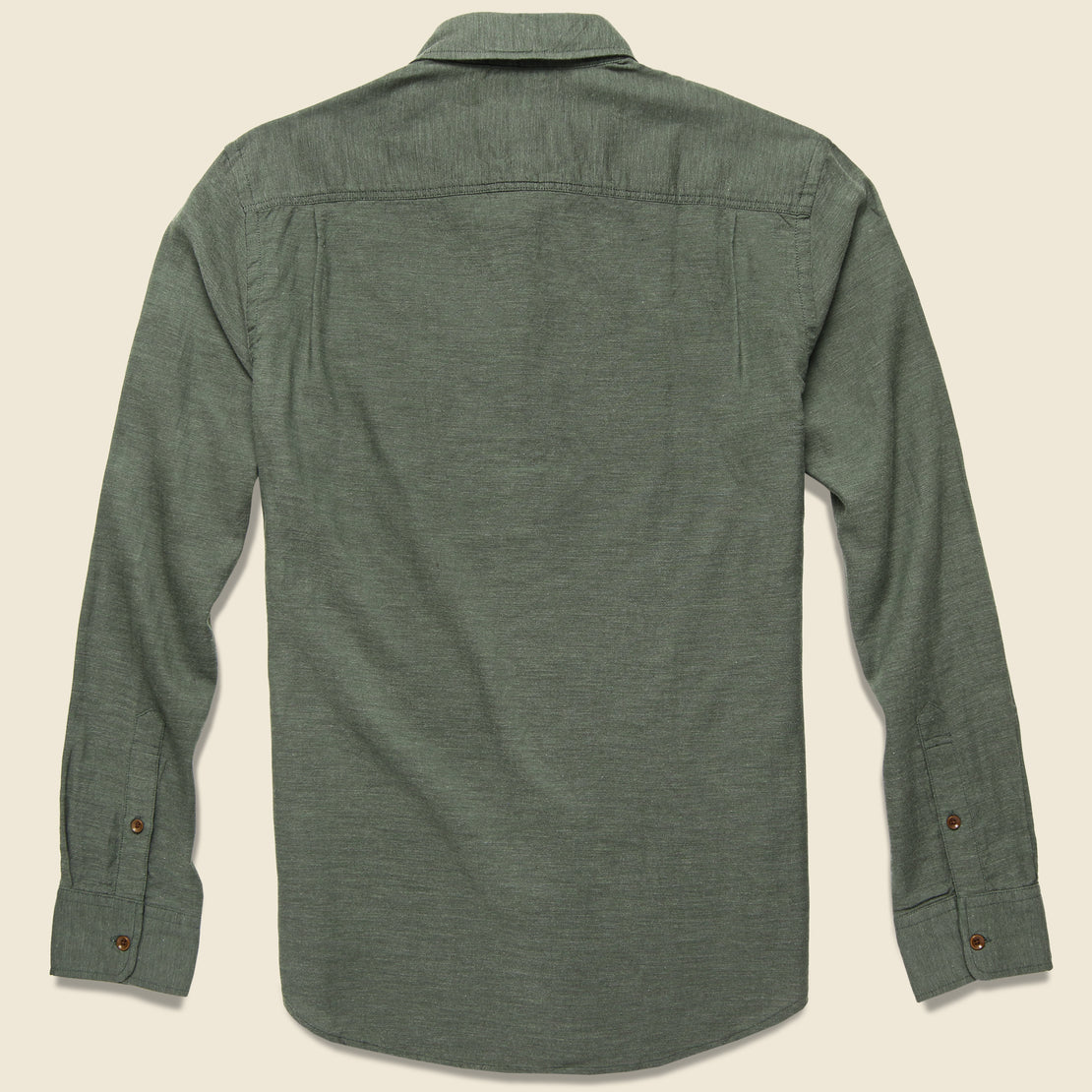 Melange Oxford Shirt - Spruce