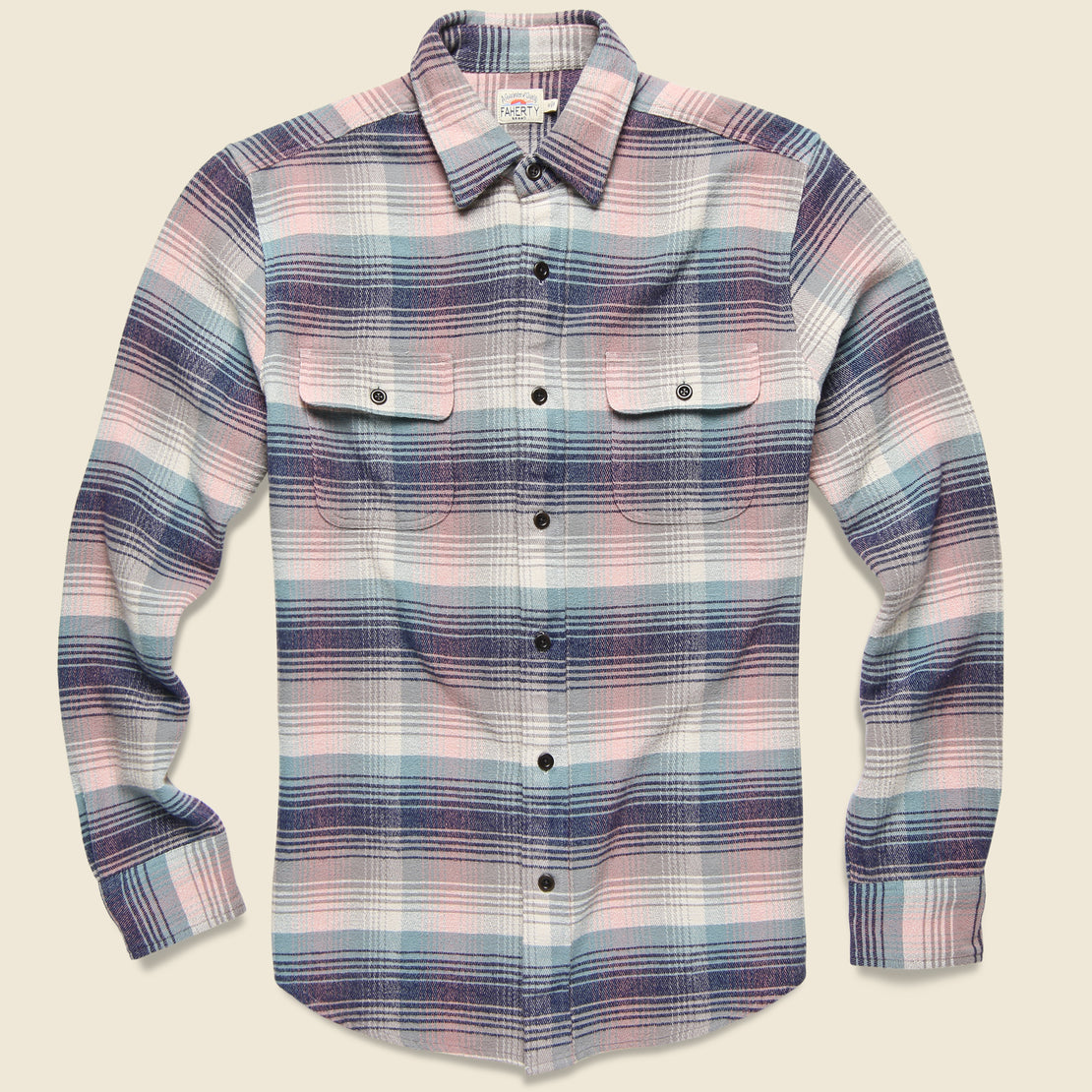 Faherty Belmar Shirt - Old Coast Serape