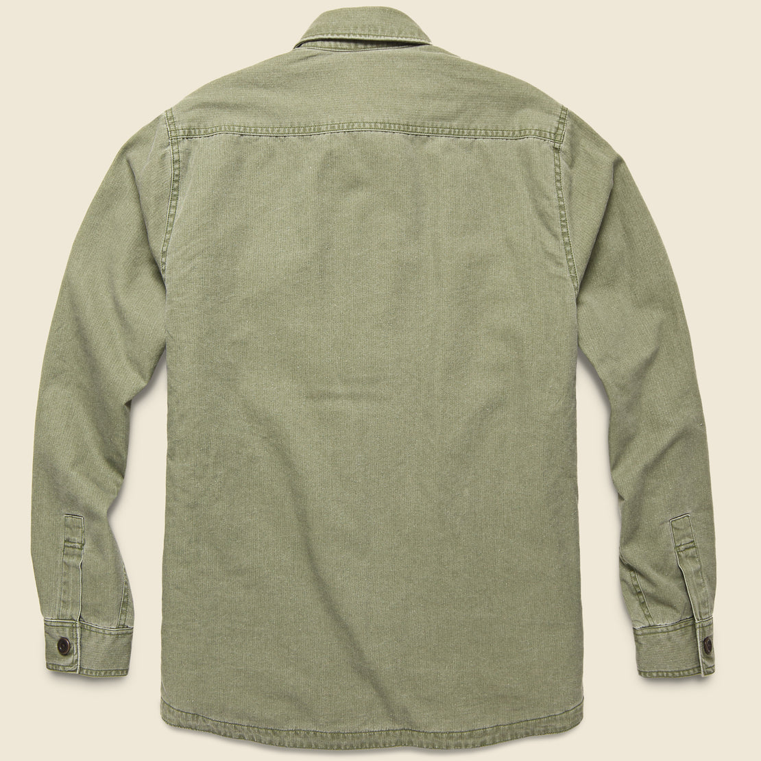 Blanket Lined CPO Shirt Jacket - Olive