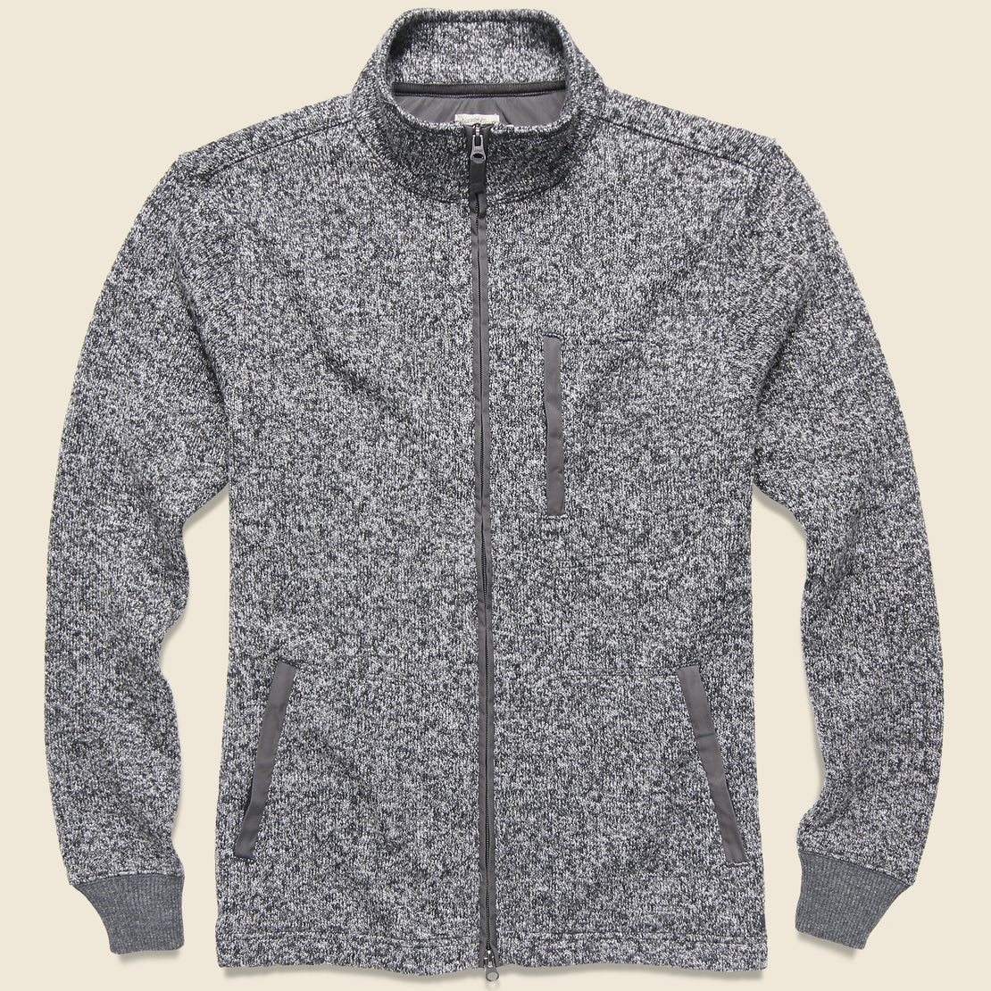 Faherty Bridger Range Jacket - Charcoal Marl