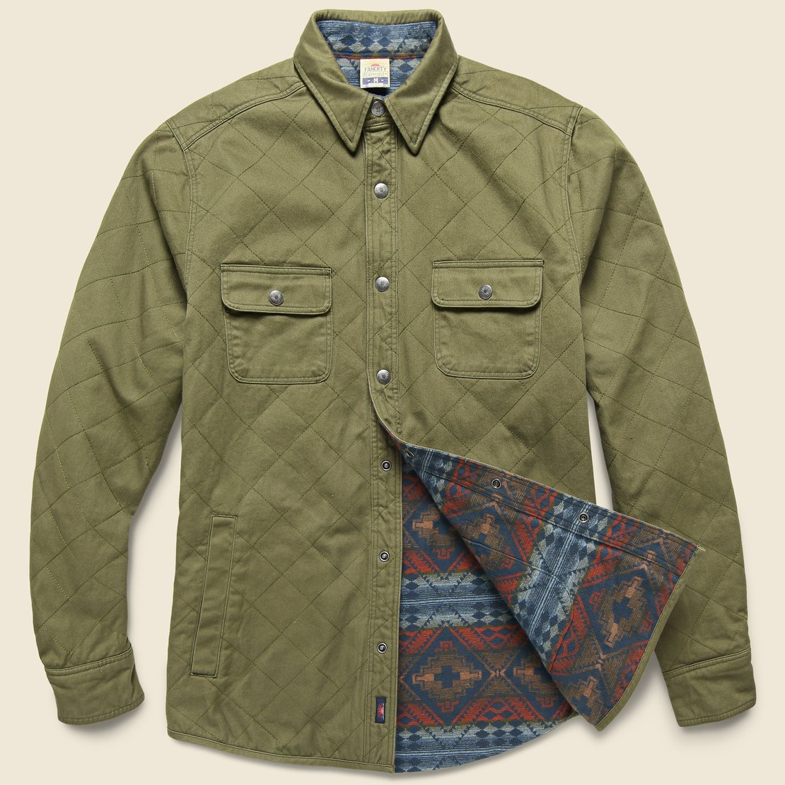 Faherty Bondi Jacket - River Glade