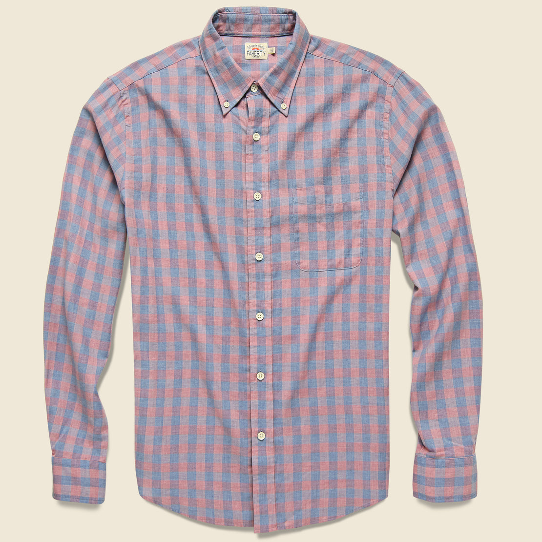 Faherty Everyday Shirt - Ojai Rose Check