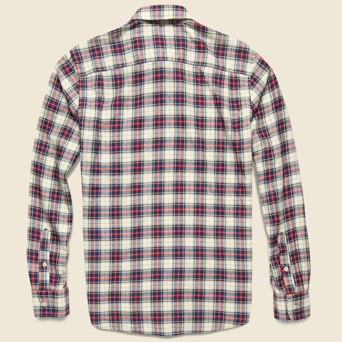 Brushed Everyday Shirt - Indigo Heritage Tartan