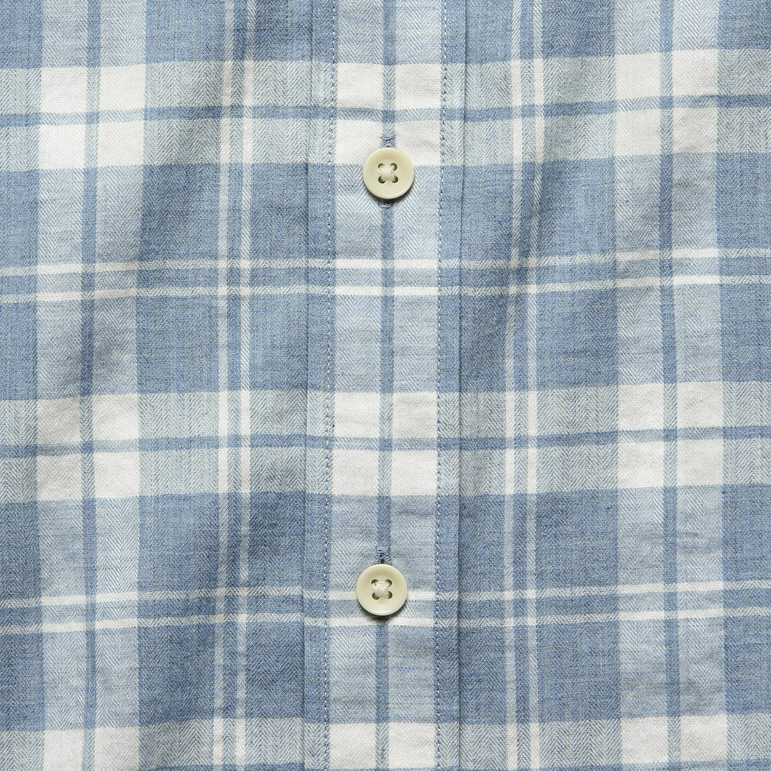 Ventura Shirt - Steel Heather Plaid