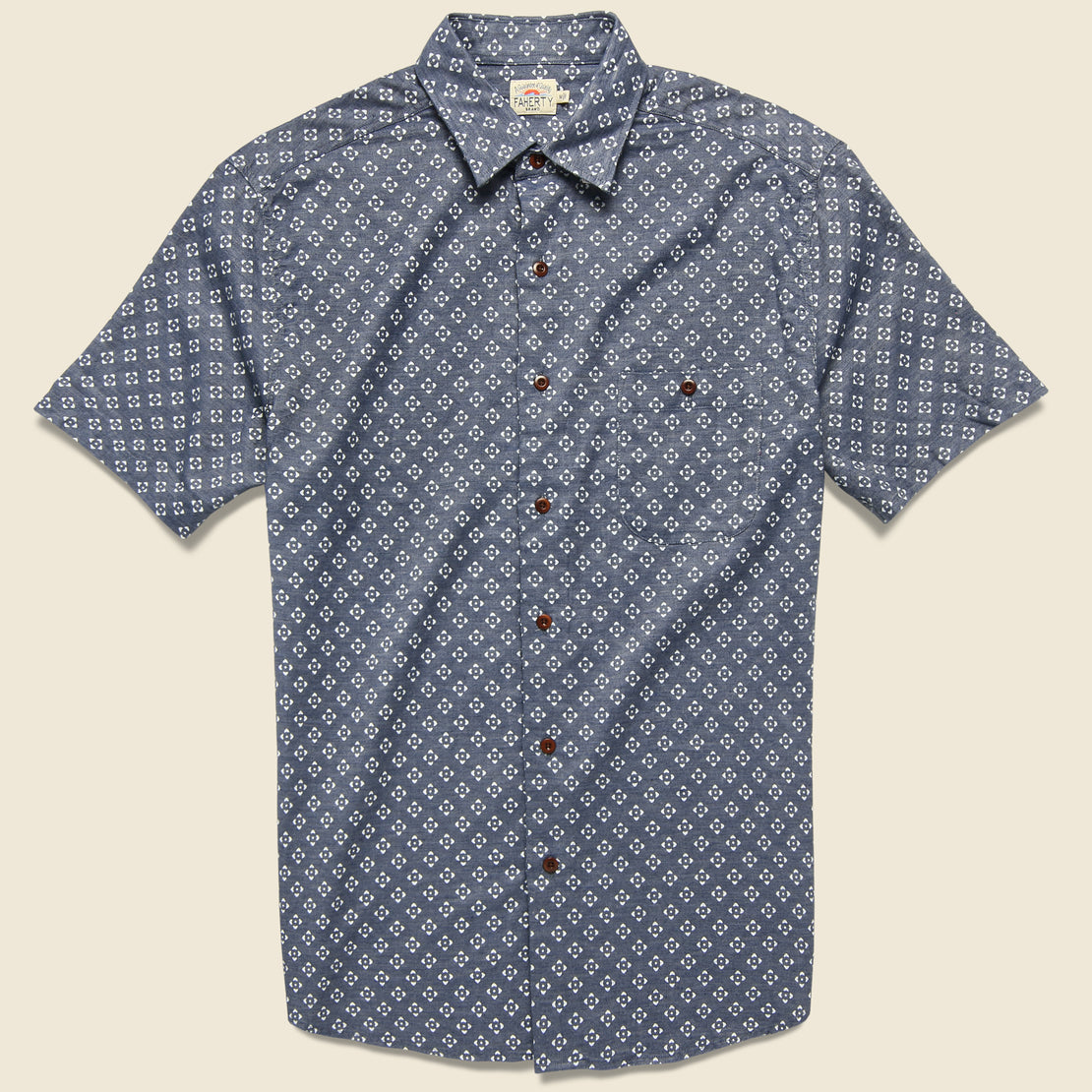 Faherty Coast Shirt - Atlas Print