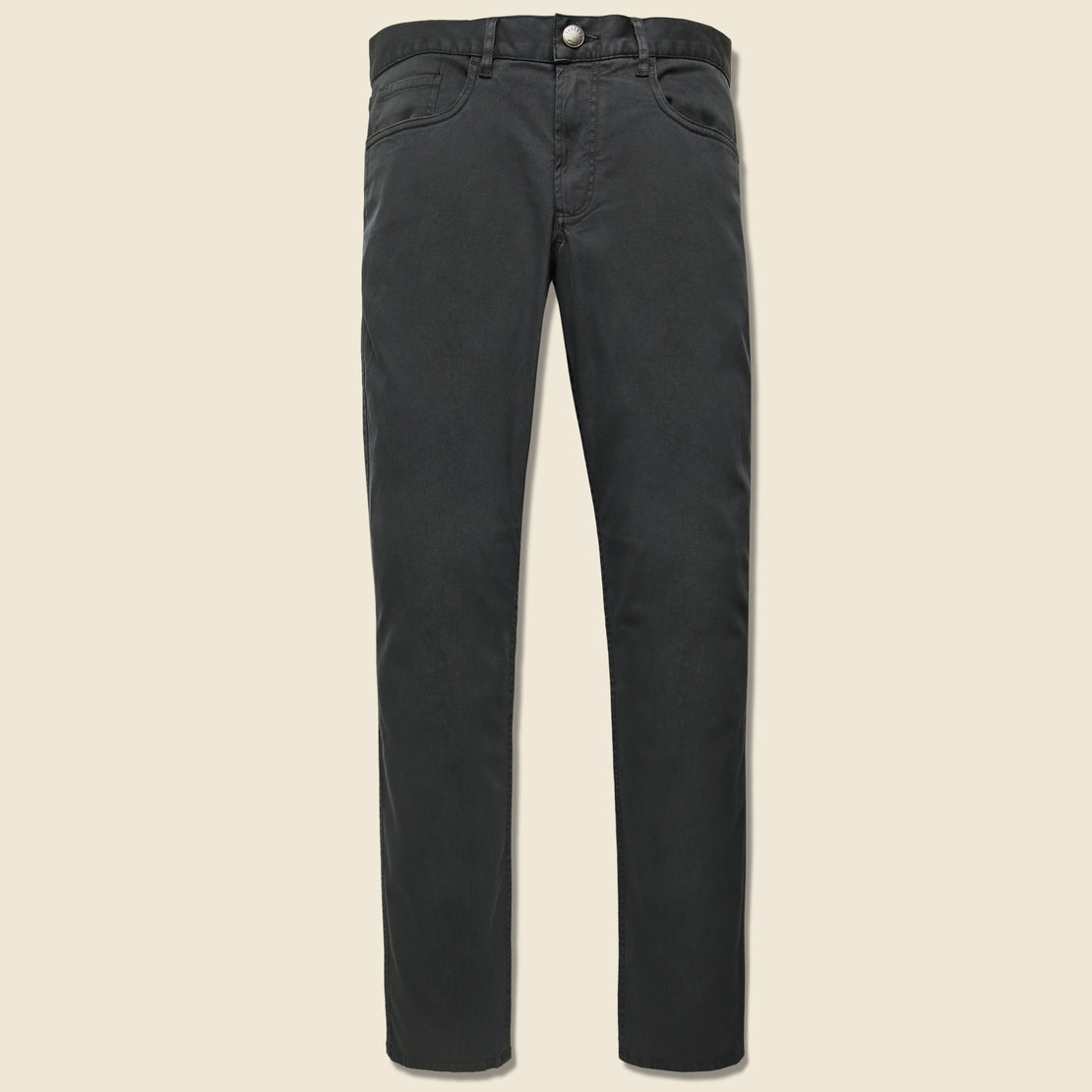 Faherty Comfort Twill Jean - Washed Black