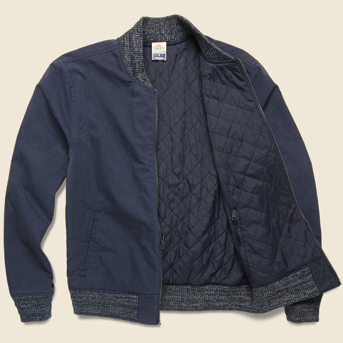 Faherty Surplus Bomber - Navy