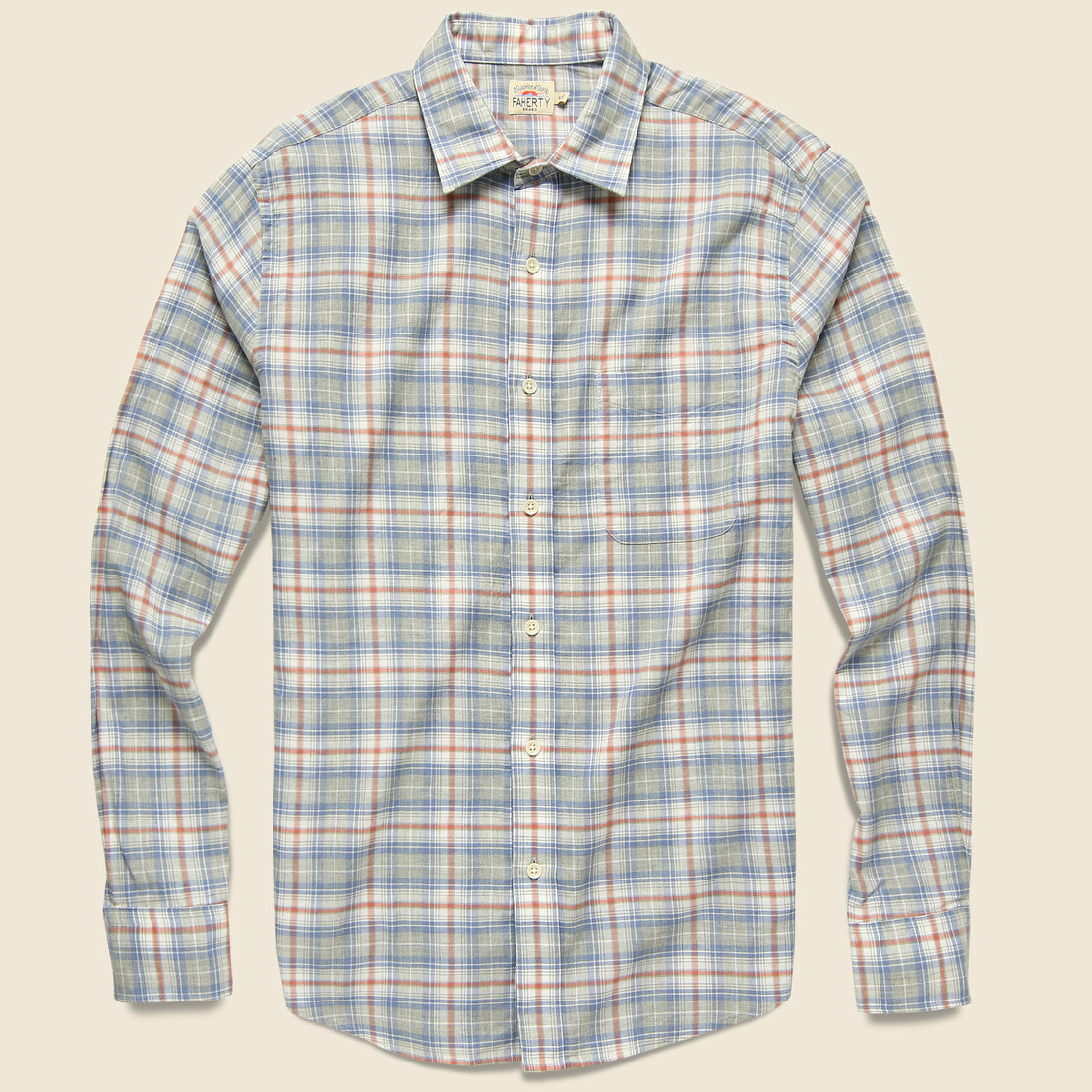 Faherty Everyday Shirt - Marin Coast Plaid