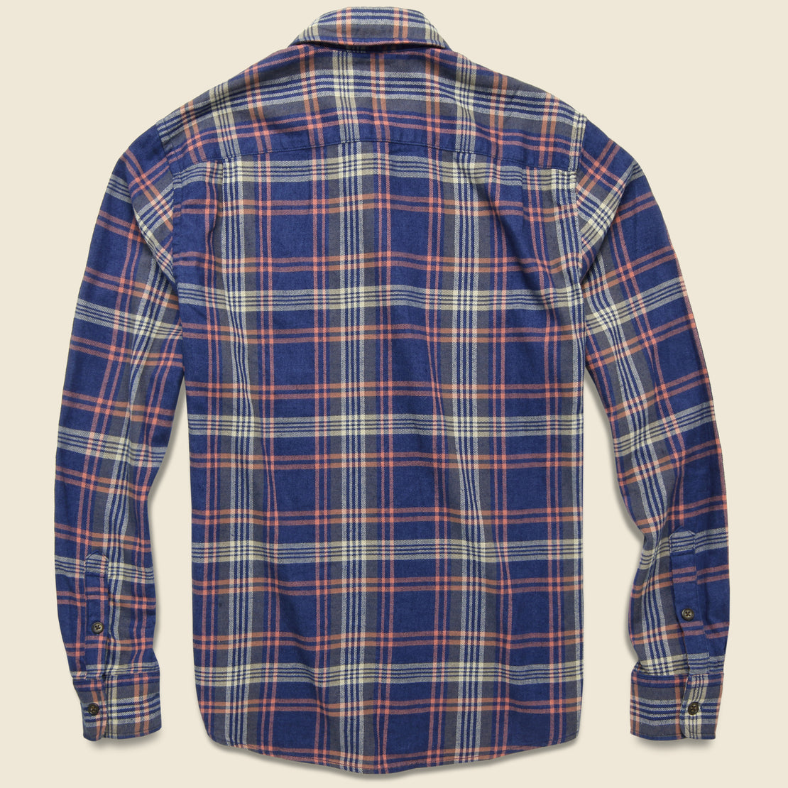 Stretch Seaview Flannel - Cardiff Plaid