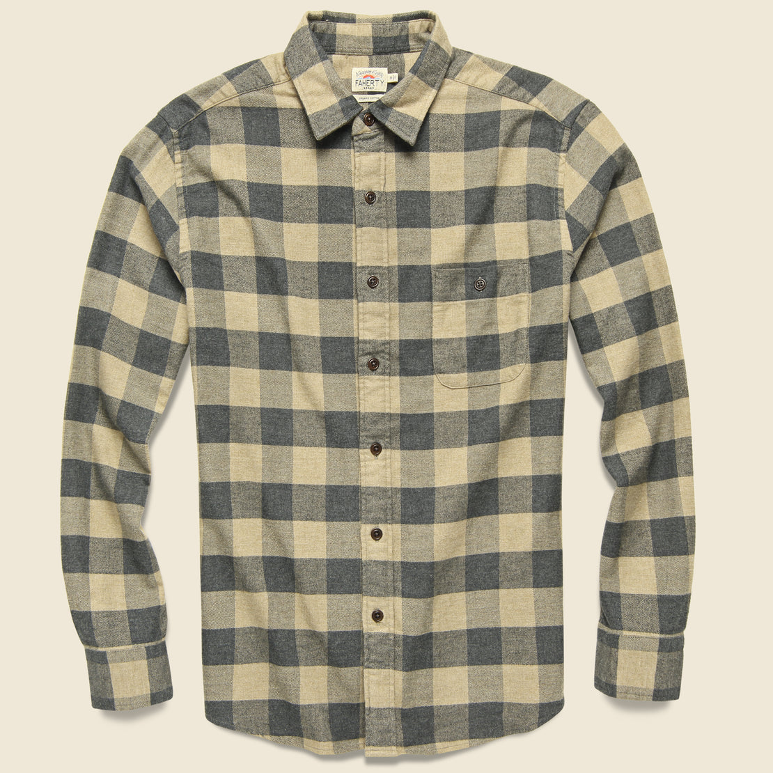 Faherty Stretch Seaview Flannel - Evans Range Buffalo