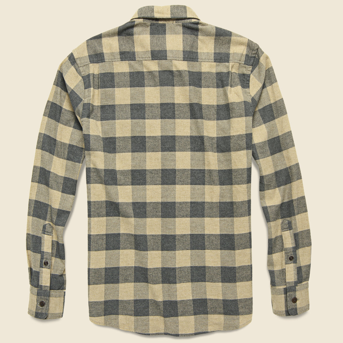 Stretch Seaview Flannel - Evans Range Buffalo