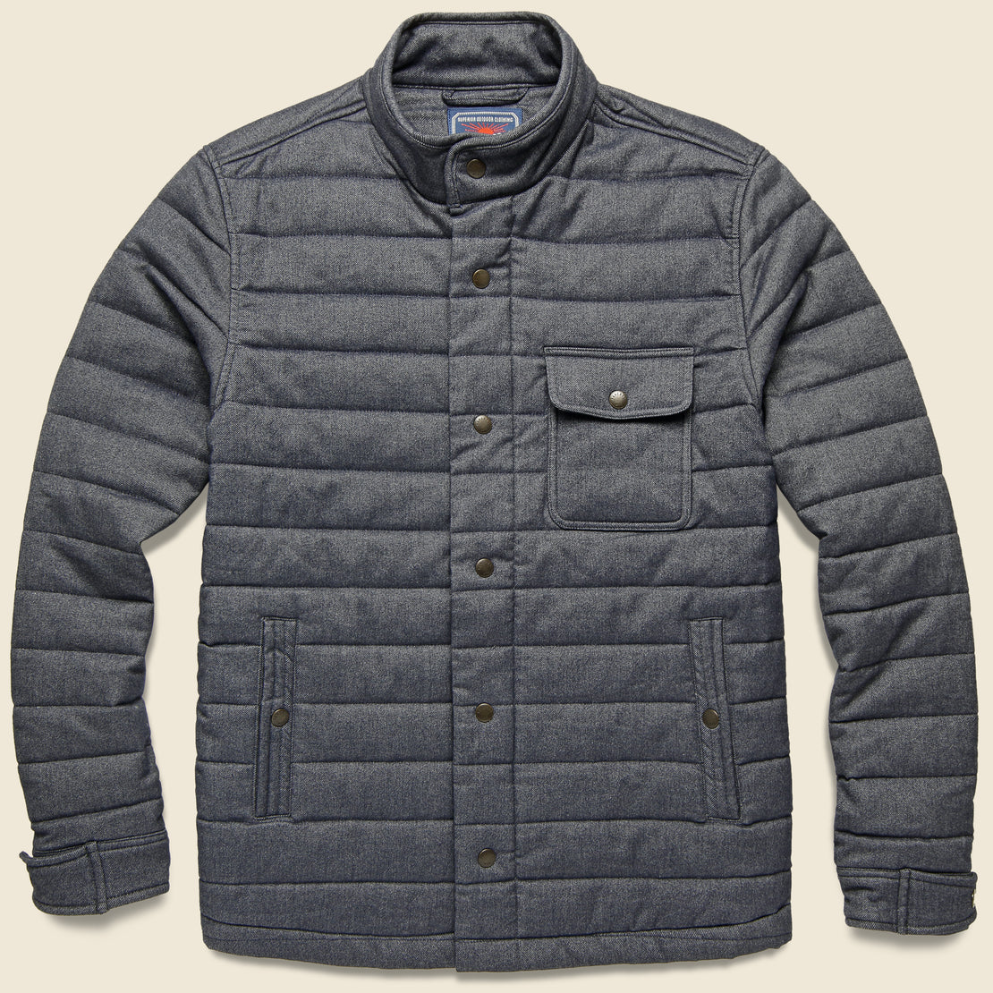 Faherty Teton Valley Jacket - Slate
