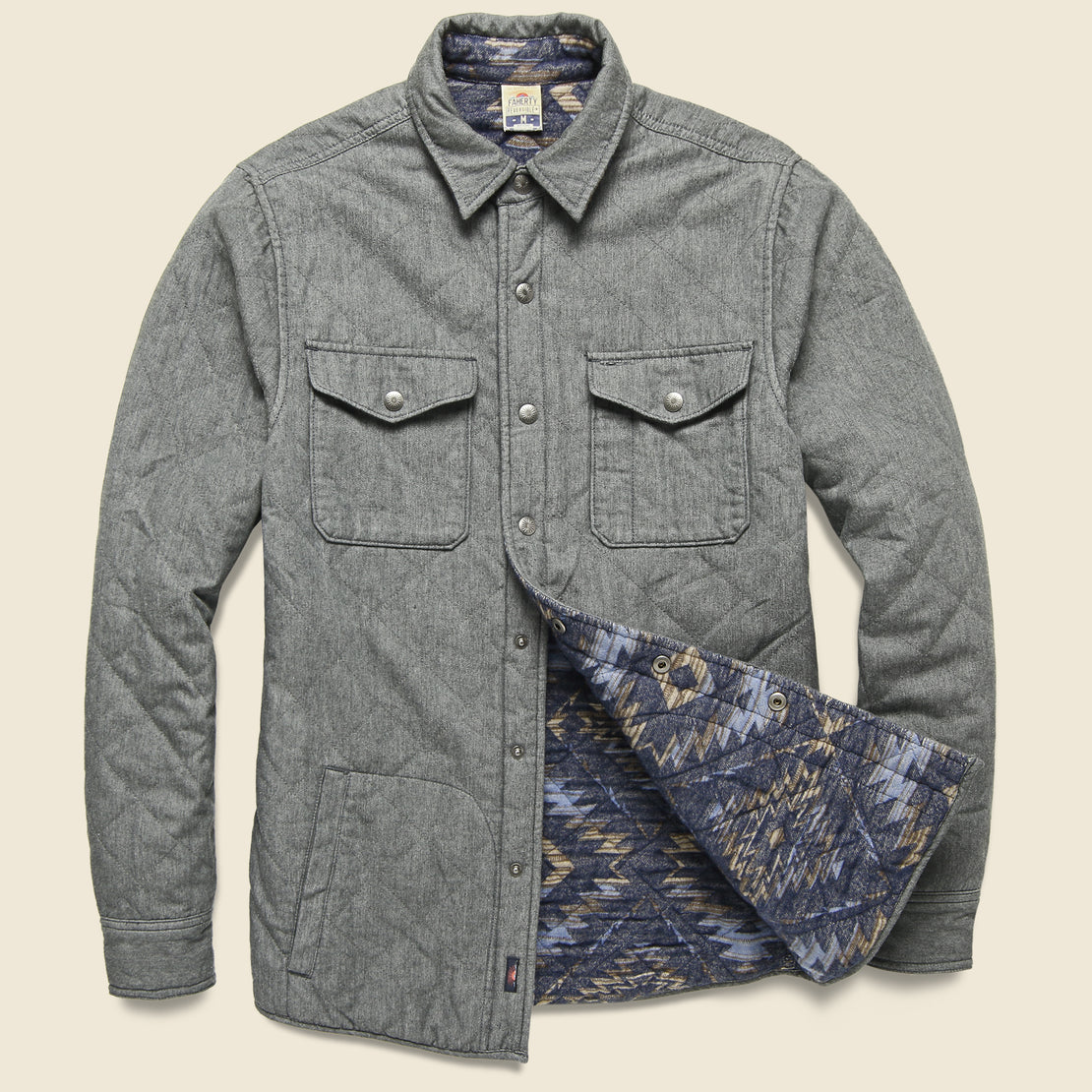 Faherty Bondi Jacket - Evening Ridge