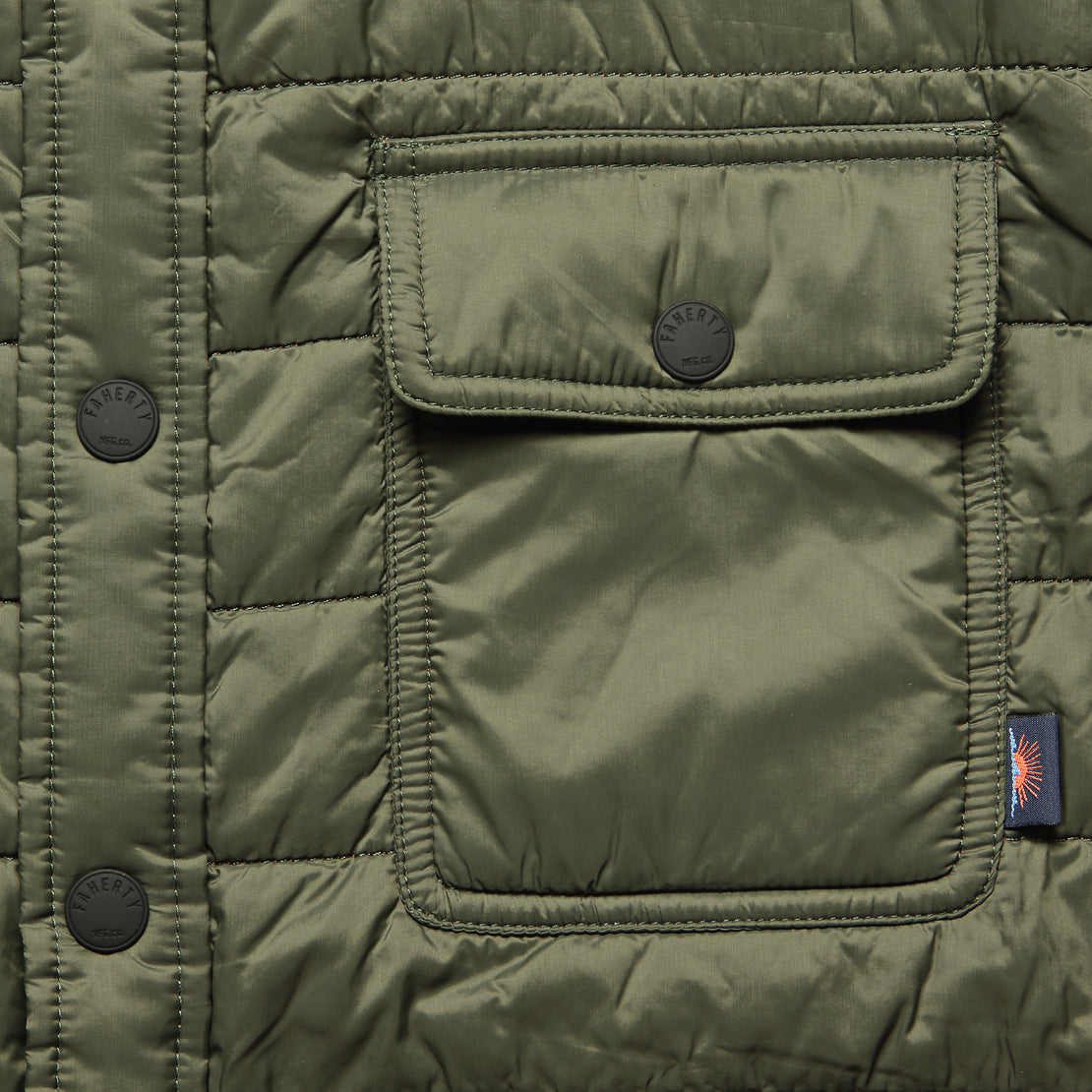 Atmosphere Shirt Jacket - Olive