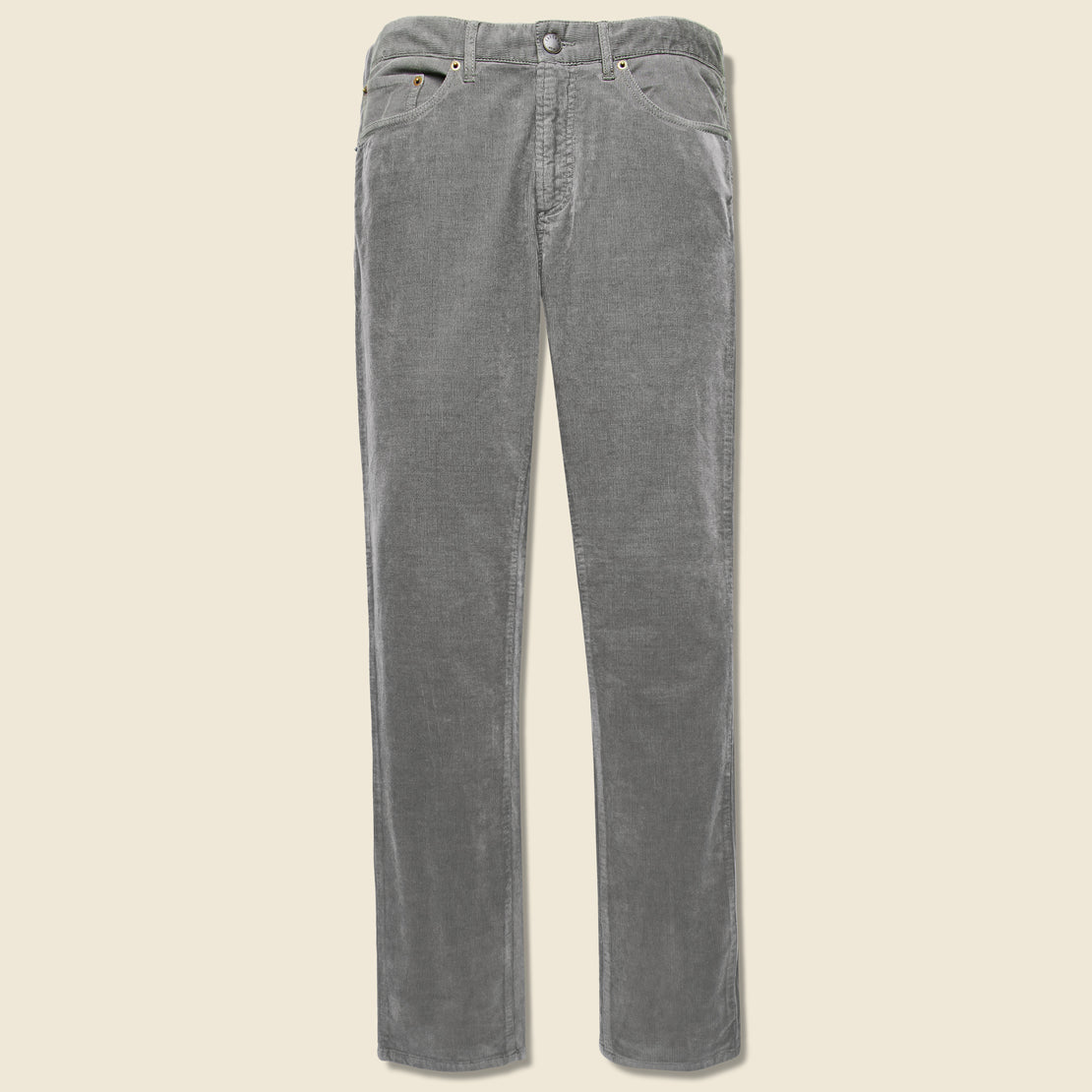 Faherty Stretch Corduroy Pant - Rugged Grey