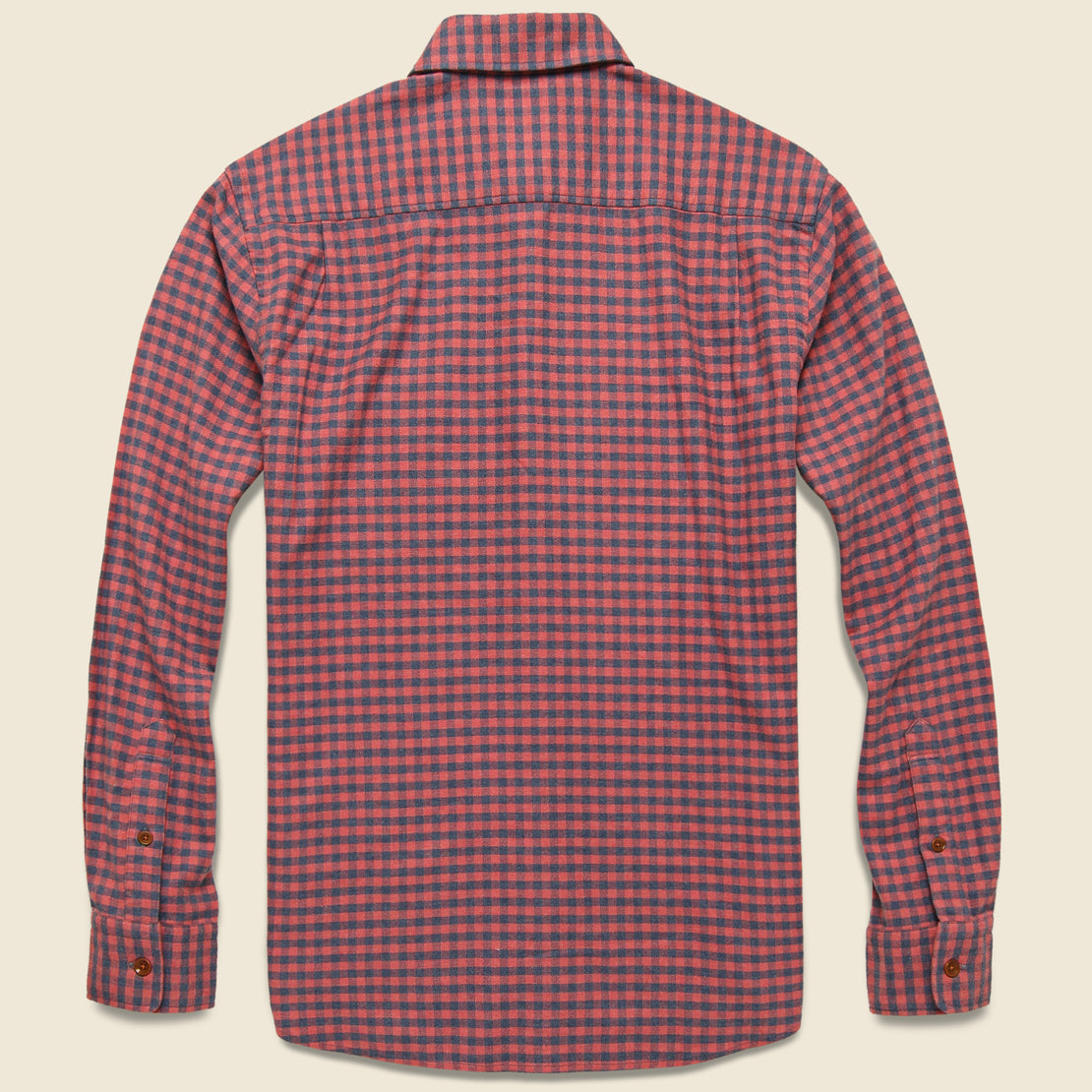 Stretch Seaview Flannel - Blue Rose Gingham