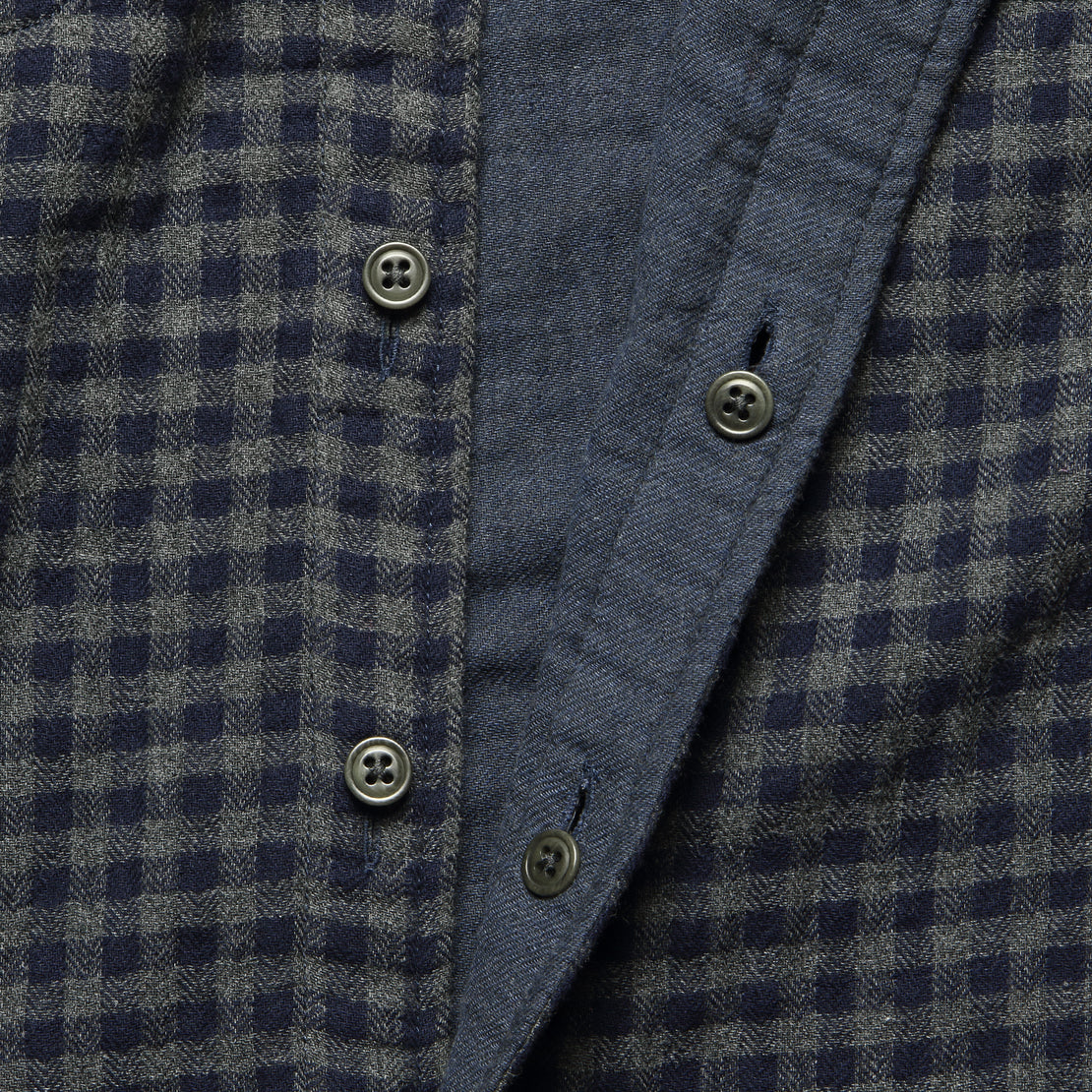 Belmar Workshirt - Charcoal Navy Check