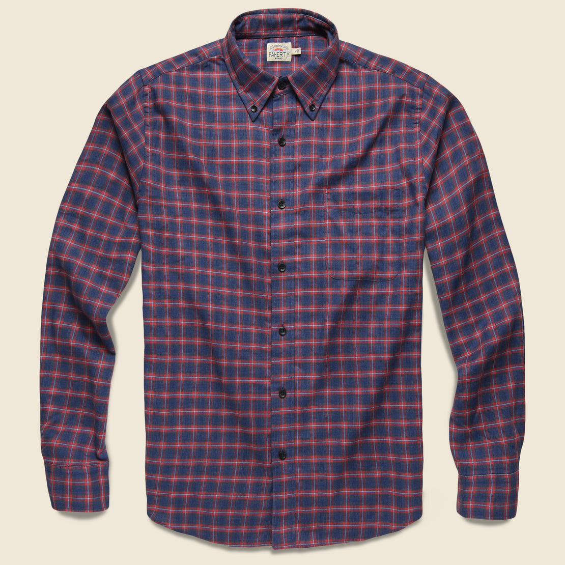 Faherty Everyday Shirt - Festive Check