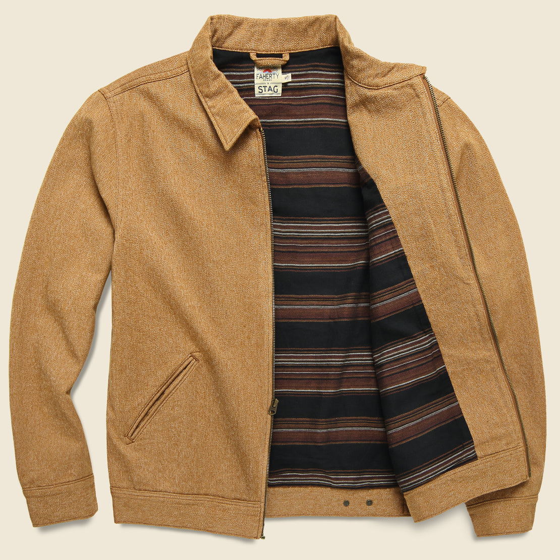 Asbury Jacket - Saddle Brown