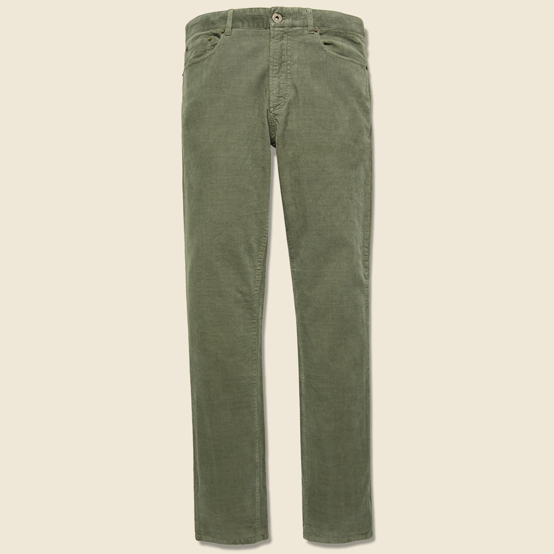 Faherty Stretch Corduroy Pant - Washed Olive