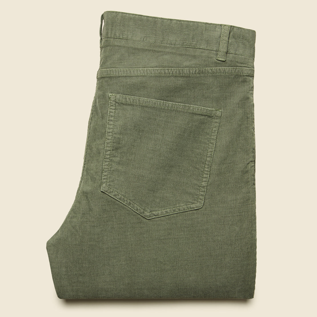 Stretch Corduroy Pant - Washed Olive