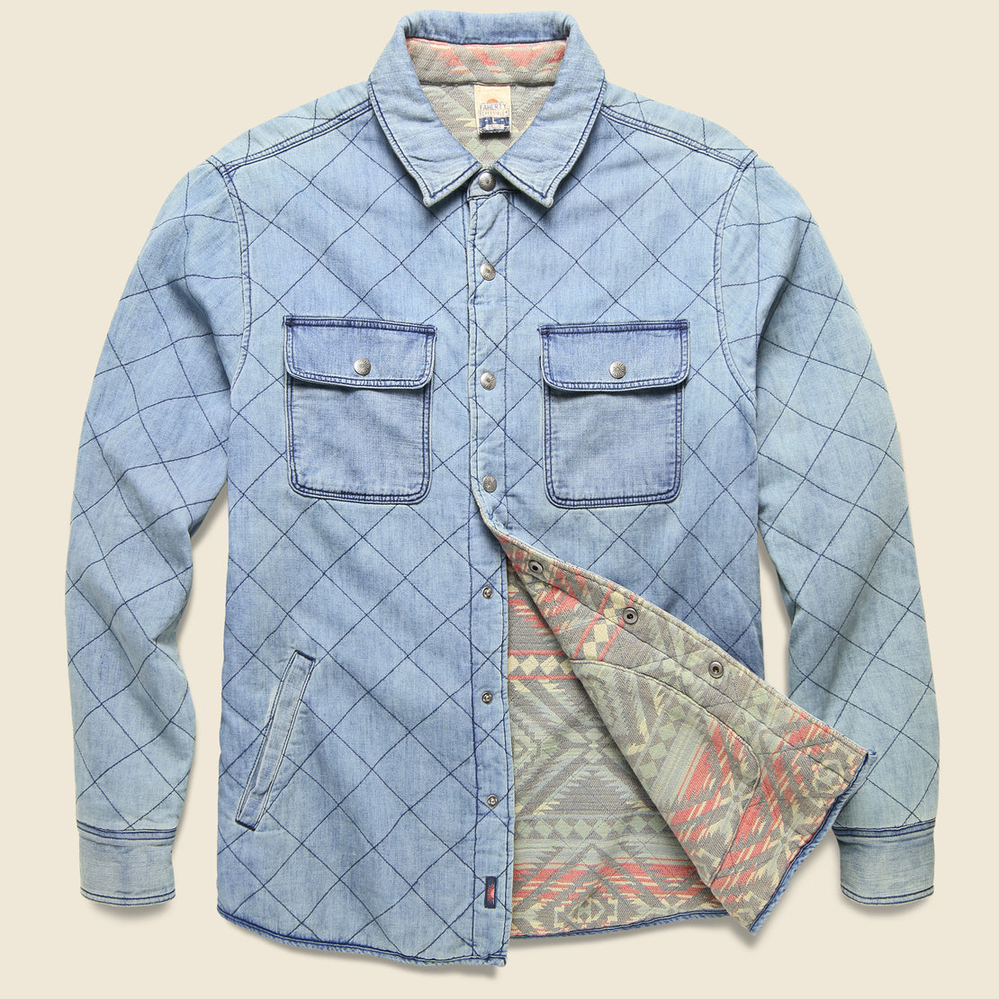 Faherty Bondi Jacket - Aleutian Coast