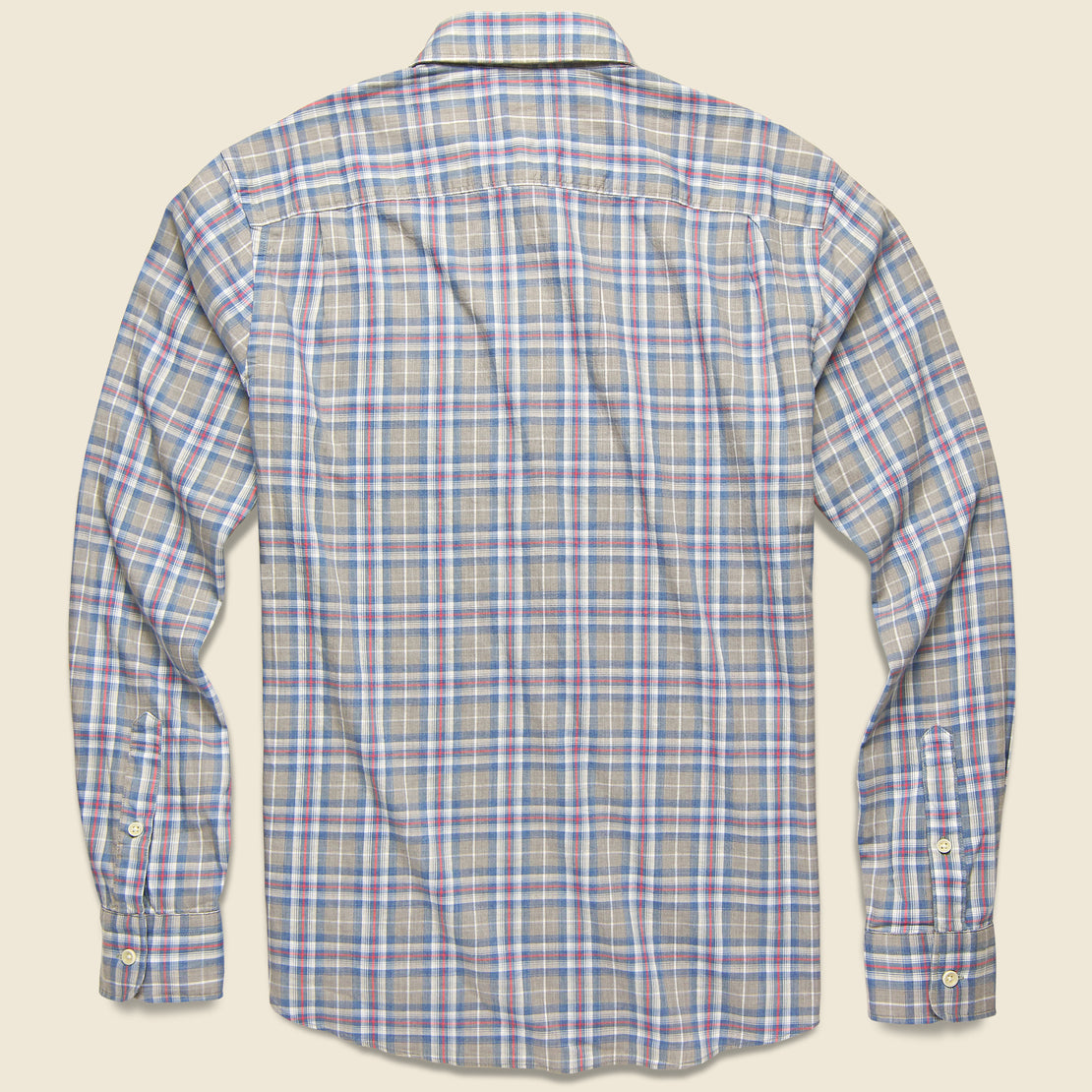 Movement Melange Shirt - Monterey Plaid