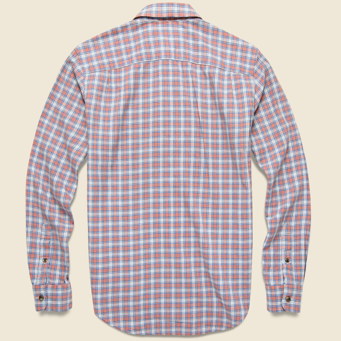 Movement Melange Shirt - Half Moon Bay Plaid
