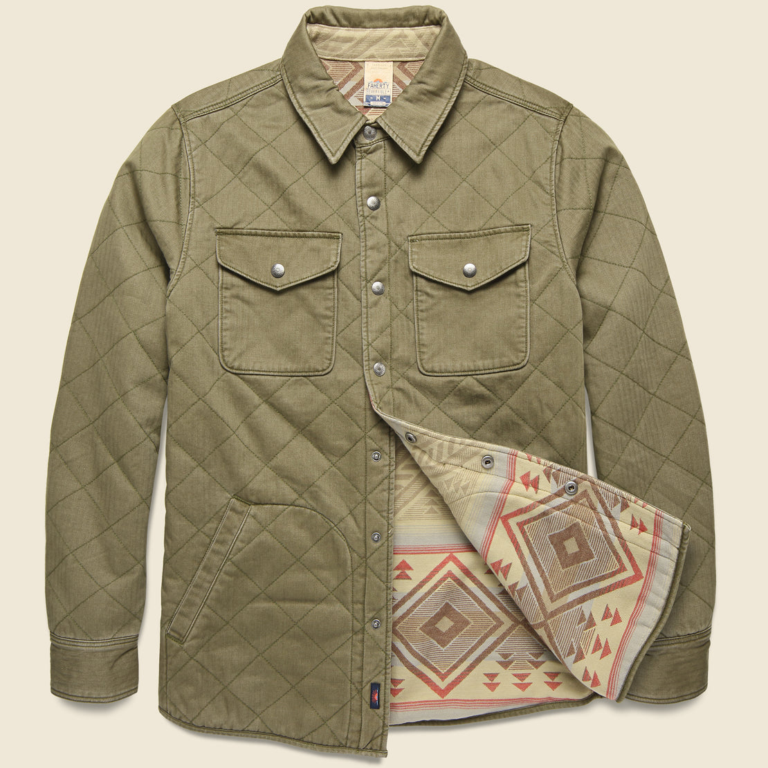 Faherty Bondi Jacket - Point Dunes