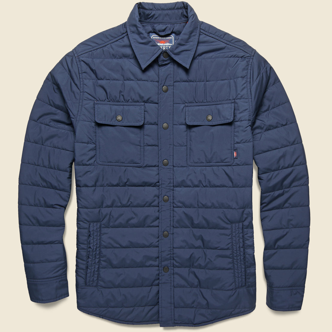 Faherty Atmosphere Packable Jacket - Navy