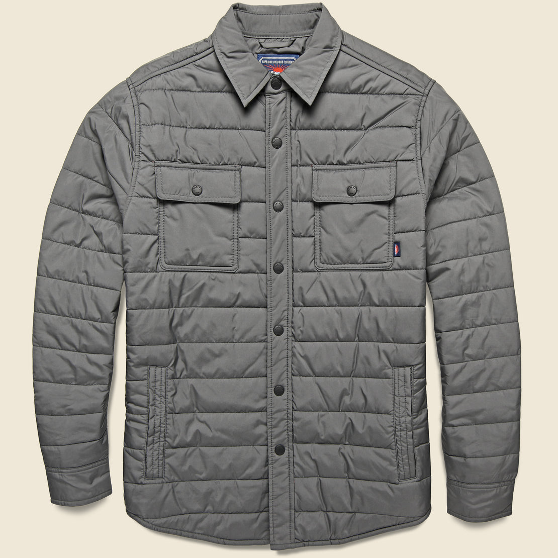 Faherty Atmosphere Packable Jacket - Ash