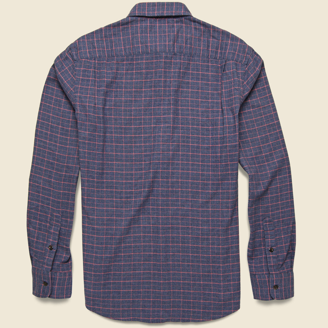 Stretch Featherweight Flannel Shirt - Hayes Check
