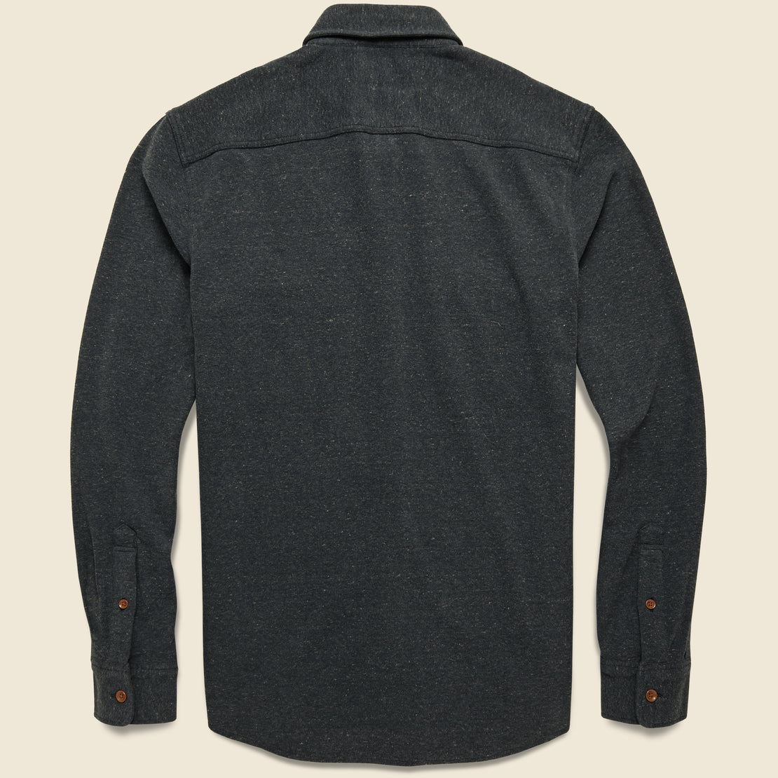 Knit Alpine Flannel - Charcoal Heather