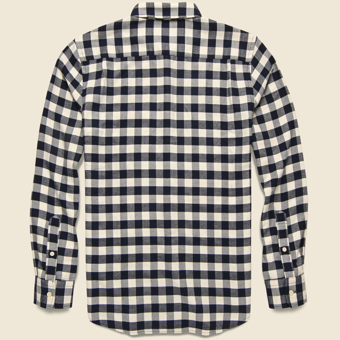 Legend Woven Shirt - Cream Tahoe Check