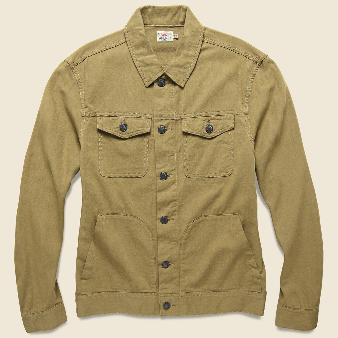 Faherty Route 80 Jacket - Weir Brown