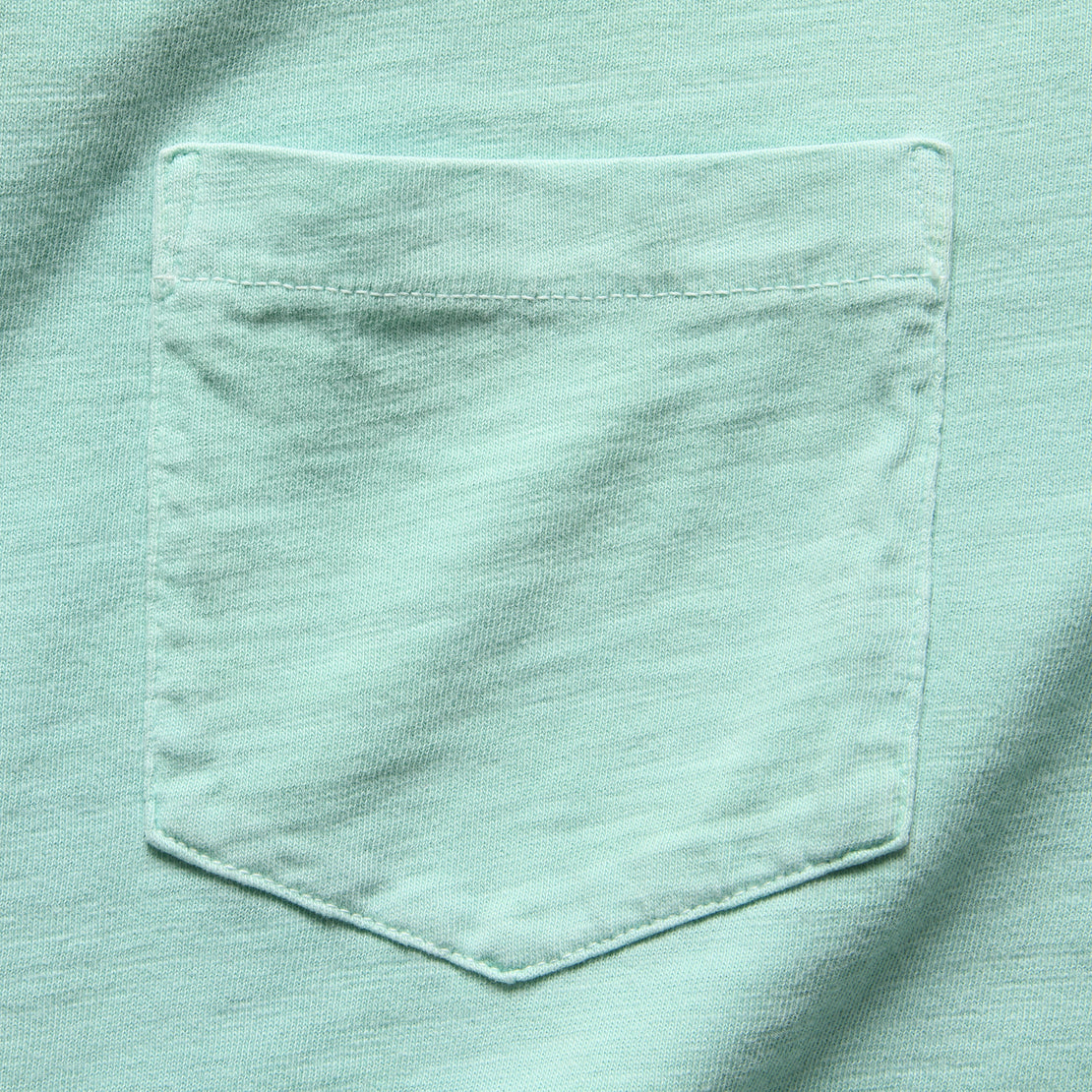 Garment Dyed Pocket Tee - Water Blue