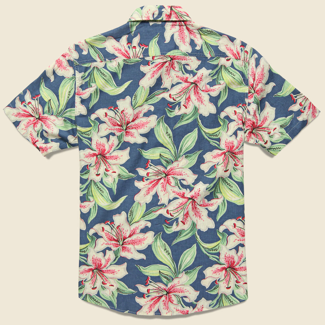 Tropical Atoll Shirt - Hibiscus Hawaiian
