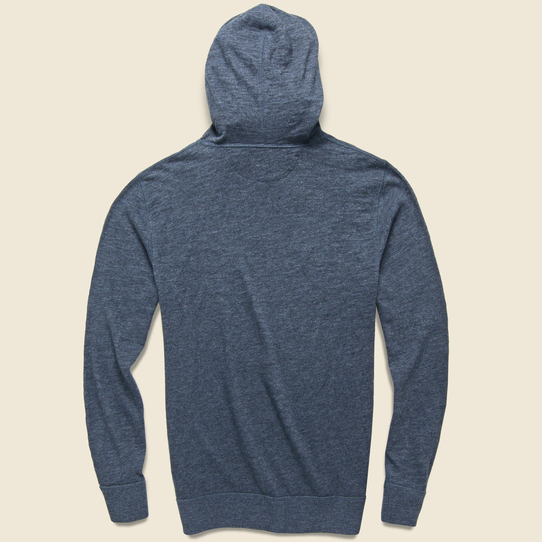 Slub Cotton Hoodie - Navy Heather