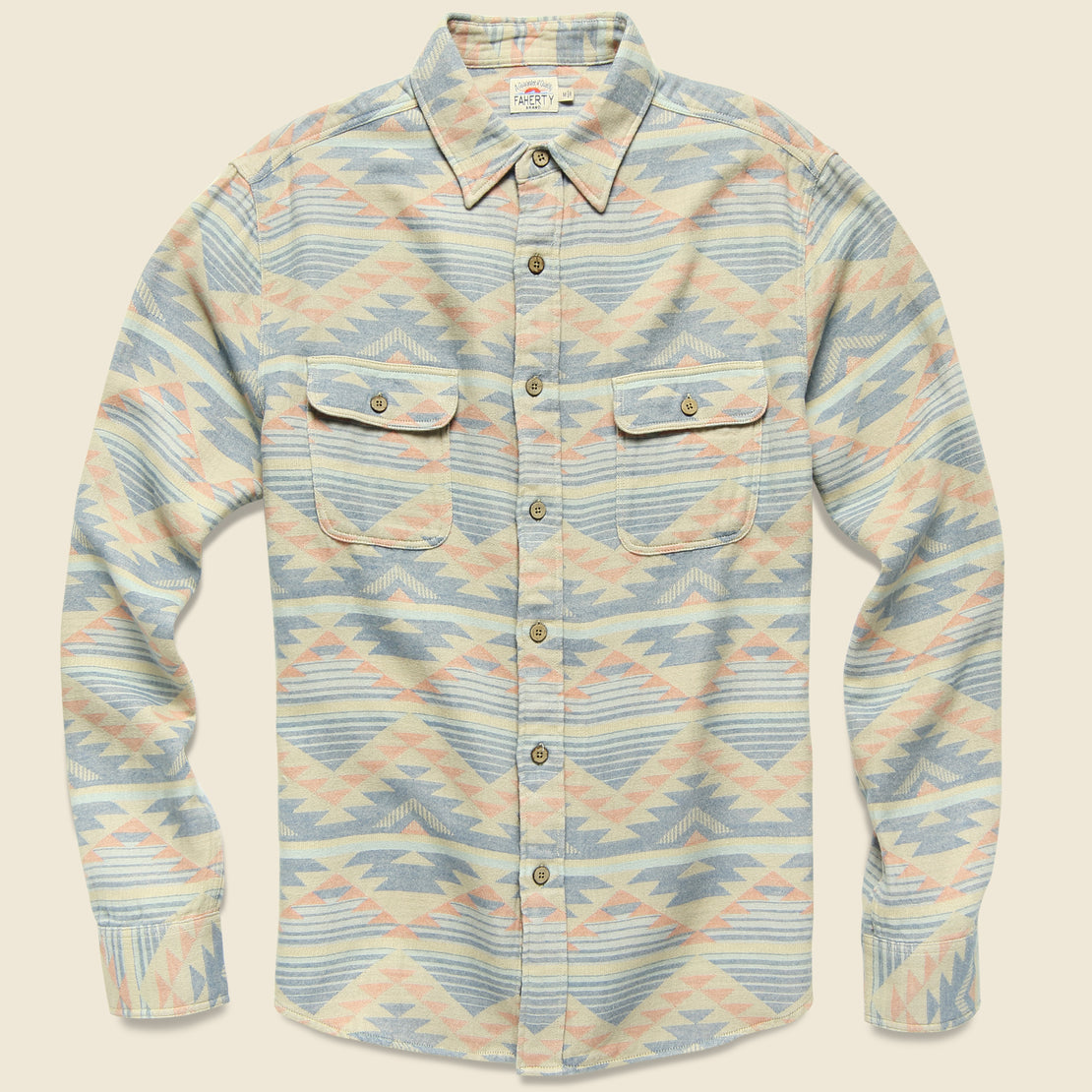Faherty Belmar Shirt - Dusted Dune
