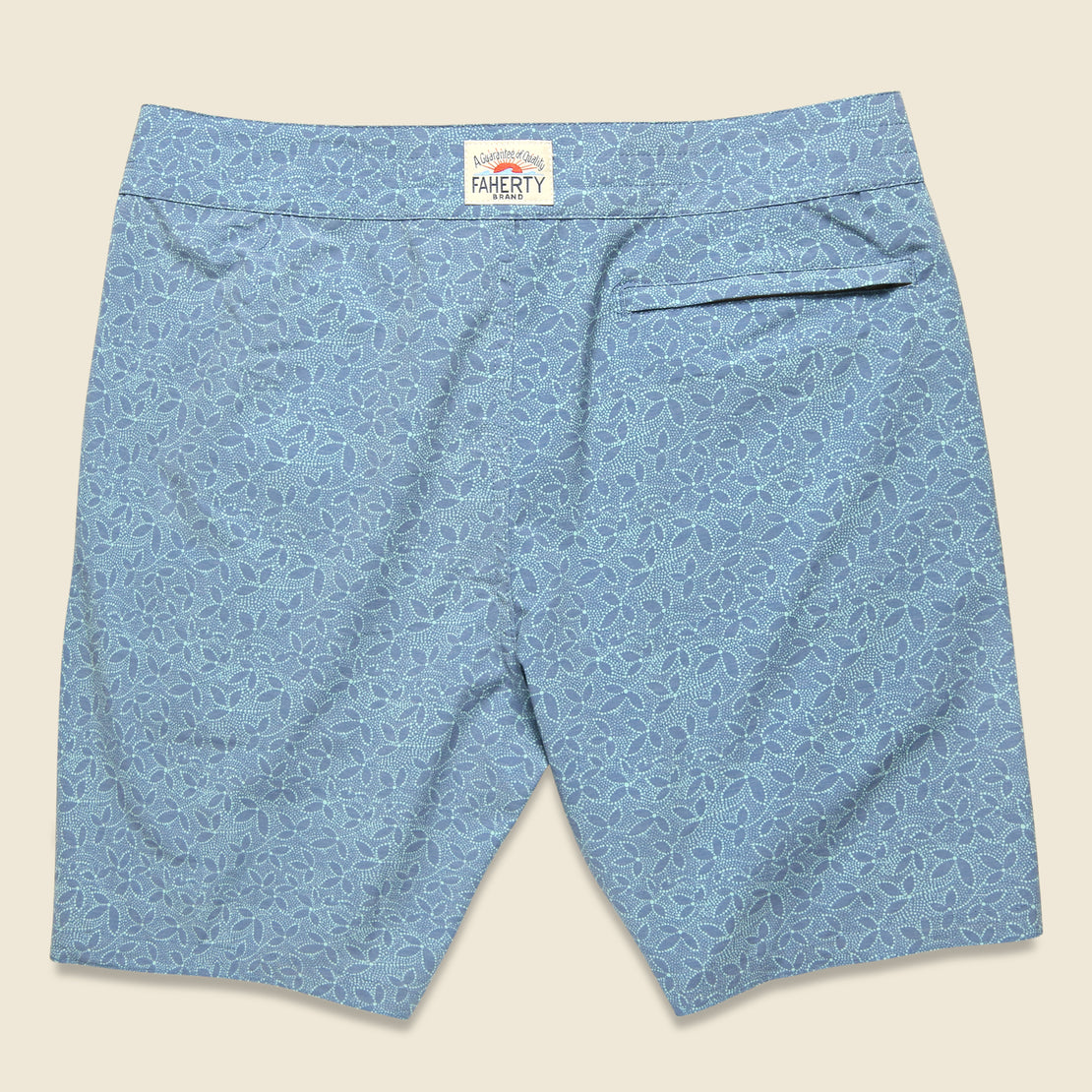 "Classic 7"" Boardshort - Teal Ivy"