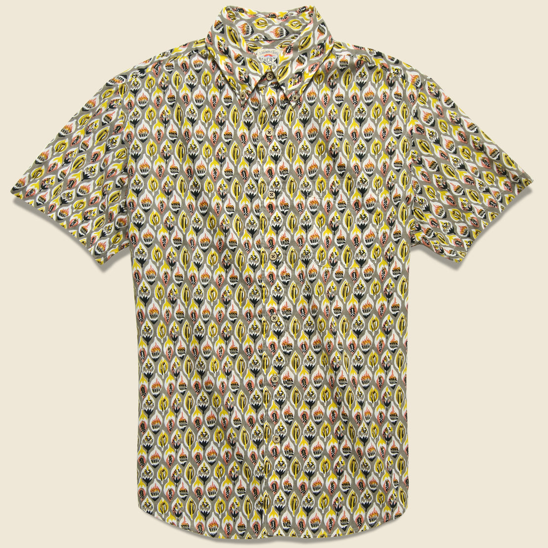 Faherty Pacific Shirt - Blue/Green